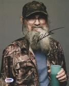 Si Robertson Signed Duck Dynasty 8x10 Photo PSA AC63902