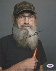 Si Robertson Signed Duck Dynasty 8x10 Photo PSA AC63903