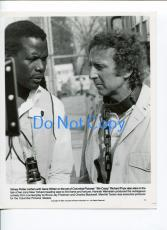 Sidney Poitier Gene Wilder Stir Crazy Original Press Movie Glossy Photo