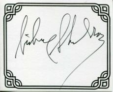Sidney Sheldon Famous Author Oscar Winner TV Writer Signed Autograph Bookplate