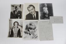 Sig Sakowicz TV, Radio Host Signed Collection 8×10 Photos & Letter (JSA)