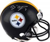 Pittsburgh Steelers Ben Roethlisberger Signed Mini Helmet - Mounted Memories