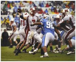 "Ben Roethlisberger Miami University RedHawks Autographed 16"" x 20"" Photograph - Mounted Memories"