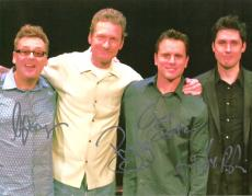 """Signed by 4 -STILES, PROOPS, ESTEN, and DAVIS- """"WHOSE LINE IS IT ANYWAY"""" 11x8.5 Color Photo"""