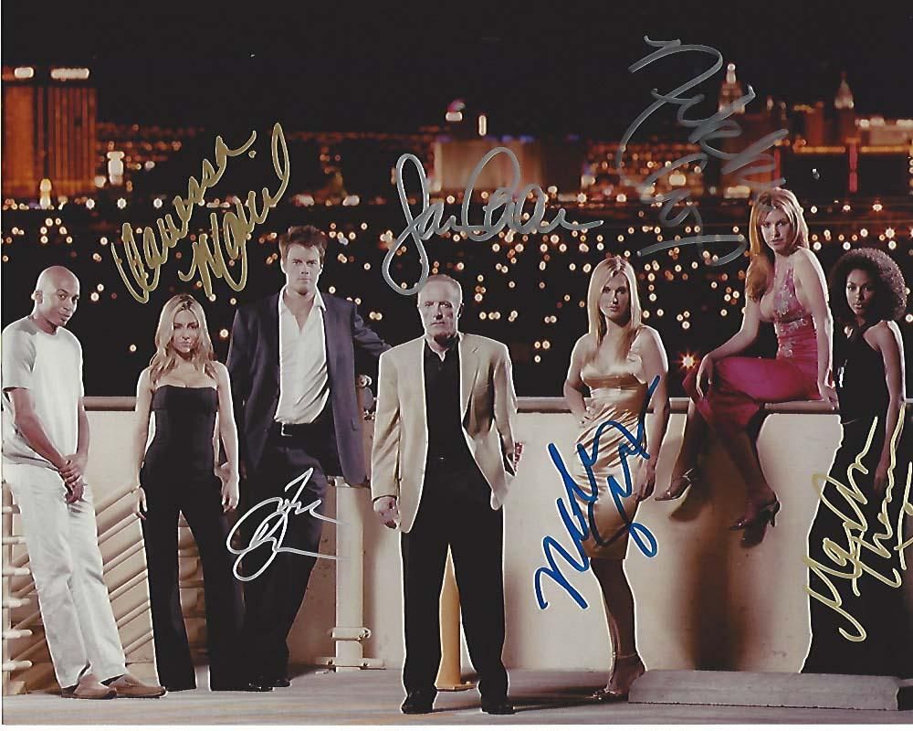 signed by 6 james caan vanessa marcil josh duhamel nikki cox molly sims and marsha. Black Bedroom Furniture Sets. Home Design Ideas