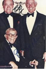 Signed by BOB HOPE and GEORGE BURNS - Both were COMEDIANS, ACTORS, and SINGERS (BOB Passed Away 2003 and GEORGE in 1996) Some Discoloring on Photo 4x6