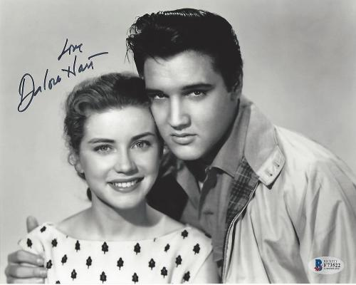 "Signed by DOLORES HART as SUSAN JESSUP in 1957 MOVIE (Starring ELVIS PRESLEY) ""LOVING YOU"" Signed 8x10 B/W Photo"