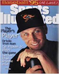Cal Ripken Jr. Baltimore Orioles Sports Illustrated Cover Autographed 16'' x 20'' Photograph with 2632 Inscription - Mounted Memories