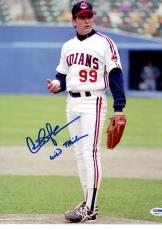 "Signed Charlie Sheen Photo with ""Wild Thing"" Inscription 11x14 - PSA/DNA"