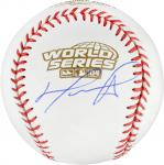 David Ortiz Boston Red Sox 2004 World Series Autographed Baseball - Mounted Memories
