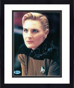 "Signed Denise Crosby 8""x10"" Color Photo Star Trek (BAS)"