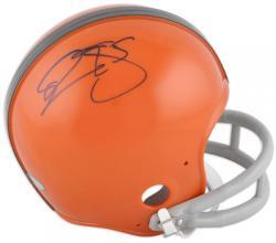 Donovan McNabb Syracuse Orange Autographed Riddell Mini Helmet