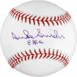 Duke Snider LA Dodgers Autographed Baseball with 8 ASG Inscription