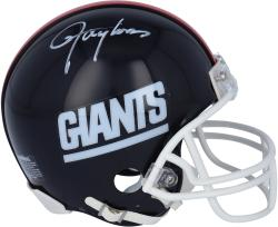 Lawrence Taylor New York Giants Autographed Riddell Mini Helmet - Mounted Memories