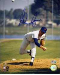 Nolan Ryan New York Mets Autographed 8'' x 10'' MLB Photograph