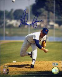 "Nolan Ryan New York Mets Autographed 8"" x 10"" MLB Photograph"