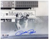 Pete Rose Cincinnati Reds Fight with Bud Harrelson 8'' x 10'' Autographed Photograph - Mounted Memories