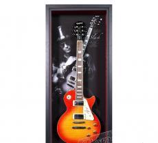 Signed Slash Les Paul Framed Guitar - Guns & Roses