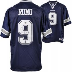Tony Romo Dallas Cowboys Autographed Authentic Reebok Jersey