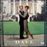Sigourney Weaver Dave Signed Laserdisc Cover PSA/DNA #J00675