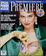 Sigourney Weaver Signed Premiere Magazine Autographed PSA/DNA #I85659