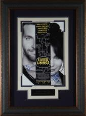 Silver Linings Playbook Autographed 11x17 Framed Display