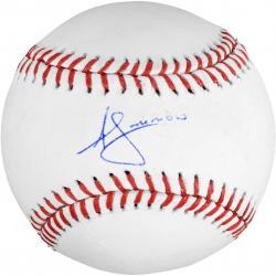 Andrelton Simmons Atlanta Braves Autographed Baseball