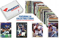 Phil Simms-New York Giants-Collectible Lot of 20 NFL Trading Cards - Mounted Memories