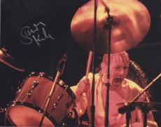 Simon Kirke Signed 8x10 Photo w/COA Bad Company Rock N Roll Legend