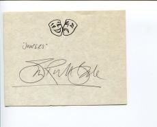 Simon Russell Beale British Actor Tony Award Nominee MI-5 Star Signed Autograph