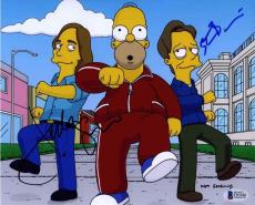 Simpsons Steve Buscemi and Jackson Browne Autographed Signed 8x10 Photo BAS COA