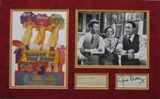 Singing in the Rain Multi Signed Autographed Matted Piece 3 Sigs PSA/DNA#AC07995