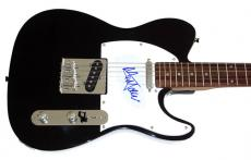 Sir Mick Jagger Autographed Signed Tele Guitar & Proof Stones
