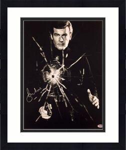 SIR ROGER MOORE Signed 007 James Bond 16x20 Photo #4 PSA/DNA COA Autograph Auto