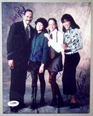 SISTER, SISTER Cast Signed Photo TIA TAMERA MOWRY Tim Reid Jackee Harry PSA/DNA