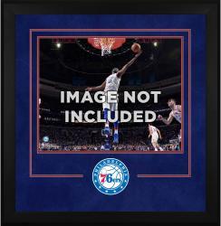 """Philadelphia 76ers Deluxe 16"""" x 20"""" Frame -"""