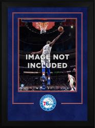 """Philadelphia 76ers Deluxe 16"""" x 20"""" Frame"""