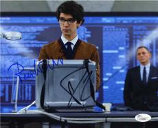 Skyfall James Bond Craig & Wishaw Autographed Signed 8x10 Photo JSA AFTAL COA