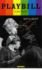 Skylight Signed X3 Bill Carey Matthew Playbill UACC RD AFTAL COA
