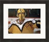 Slap Shot autographed 8x10 photo Christopher Murney Goaltender Hanrahan inscribed Ill Kill Ya You S O B Matted & Framed