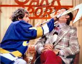 Slap Shot Dennis Lemieux autographed 8x10 photo Goaltender Yvone Barrette inscribed Trade Me Right F...ing now