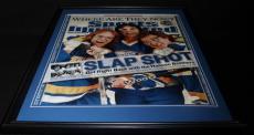 Slap Slot Hanson Brothers Signed Framed 16x20 Photo SS / JSA