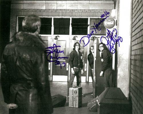 Slapshot Authentic Autographed Signed 8x10 Photo Carlson & Hanson MCS Holo 21807