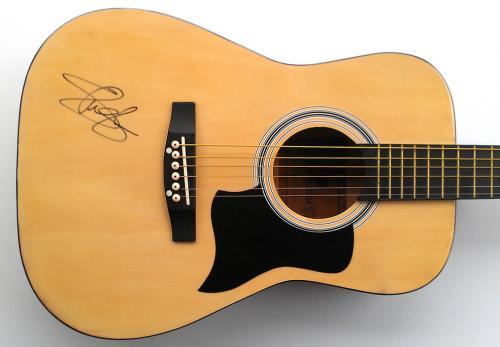 Slash Autographed Guns N Roses Signed Acoustic Guitar UACC RD AFTAL
