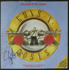 "Slash Autographed Guns N Roses ""Welcome To The Jungle"" Album Signed PSA DNA COA"