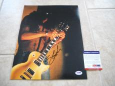 Slash GNR Guns & Roses 11x14 Signed Autographed Photo #1 Live PSA Certified