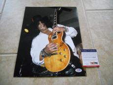 Slash GNR Guns & Roses 11x14 Signed Autographed Photo #2 Live PSA Certified