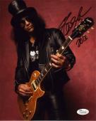 Slash Guns N Roses Autographed Signed 8x10 Photo Certified Authentic JSA COA
