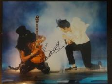 Slash Guns N Roses Hand Signed Autograph 11x14 Photo Guitar Legend Video Proof 2