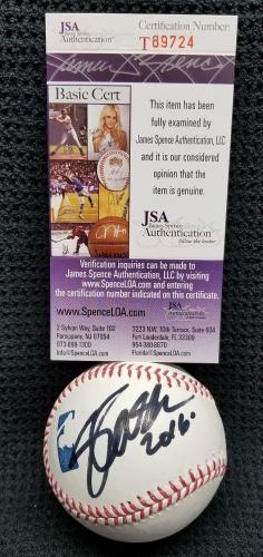 SLASH Guns N Roses Signed Autographed Rawlings MLB Baseball. JSA